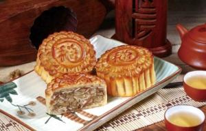广式金腿五仁月饼