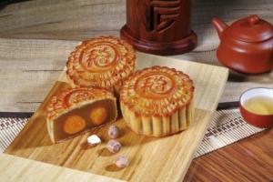 潮式翡翠皮月饼